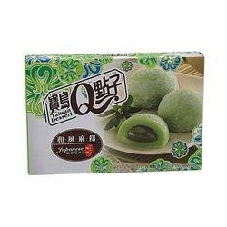 Ciasteczka mochi z zieloną herbatą TAIWAN DESSERT  210g   Banh Mochi Tra Xanh 210gx24szt