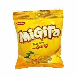 Cukierki o smaku imbiru MIGITA 70g | Keo Gung Migita 80szt/krt