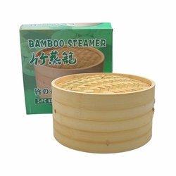 Dwupiętrowy bambusowy parowiec 30cm | Khay Hap Banh 30cm