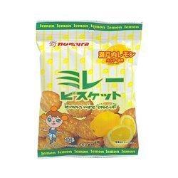 Herbatniki  o smaku cytrynowym NOMURA 70g | Banh Quy Vi Chanh 70g x 10szt/krt
