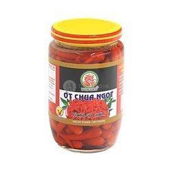 Marynowane chili w sosie słodko-kwaśnym NGOC LIEN 390g |Ot Qua Chua Ngot Ngoc Lien 390g x 24szt/krt