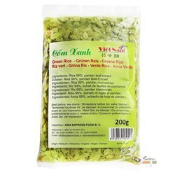 Młody Zielony Ryż VIETNAM 200 g | Com Xanh 200gx24op