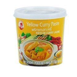 Pasta Curry Żółty COCK BRAND 1kg   Curry Vang 1kgx12szt/krt