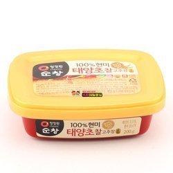 Pasta chili CHAL GOCHUJANG 200g   Tuong Ot Do Han Quoc CHAL GOCHUJANG 200g x 30szt/krt