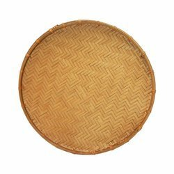 Taca bambusowa okrągła 35cm | Met Nan 35cm