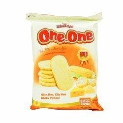 Wafle ryżowe Cheese ONE ONE 118g   Banh Gao Pho Mai ONE ONE 118g