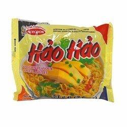 Zupka błyskawiczna o smaku kurczaka 75g x 30opak/krt   Mi Hao Hao Ga 75g x 30opak/krt